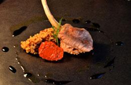 Côtelette Agneau, Risotto de Quinoa