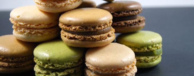 Macarons chocolat et mars