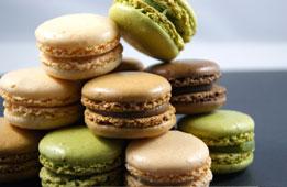 Macarons Party : Macarons chocolat et mars
