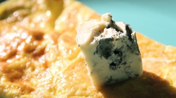 Fourme d'Ambert et truffe noire de Brantôme